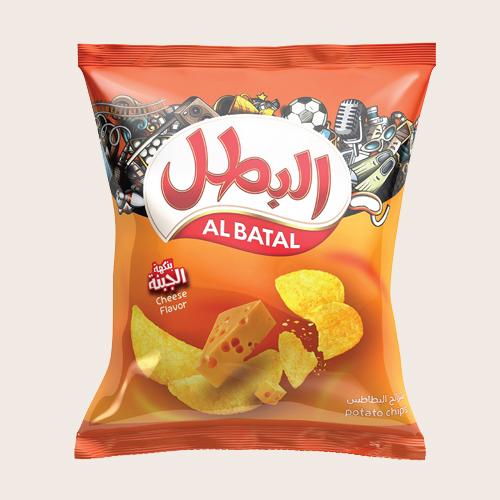 Al Batal Potato Chips -Cheese