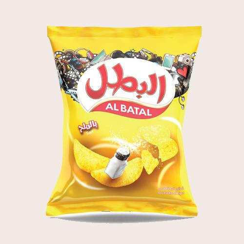 Al Batal Potato Chips  -   Salt