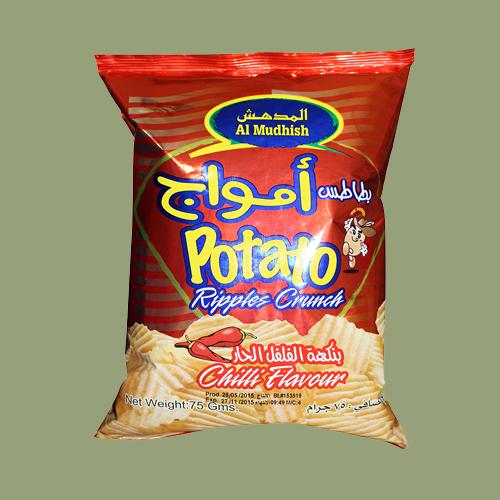 Al Mudhish Potato Chips-Chilli