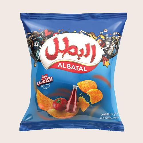 Al Batal Potato Chips-Ketchup