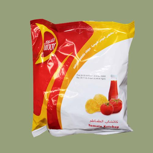 Suroor Potato Chips-Tomato Ketchup
