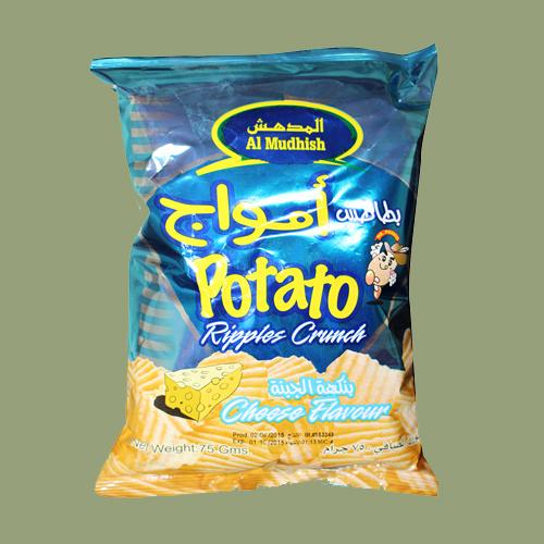 Al Mudhish Potato Chips - Cheese